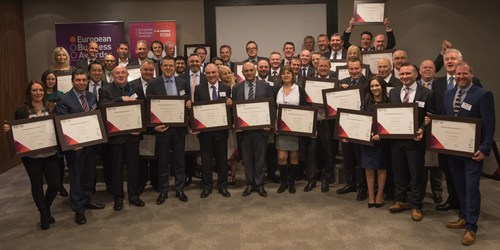 The UK National Champions for the European Business Awards (PRNewsFoto/European Business Awards) ...