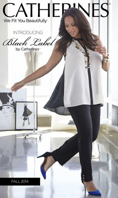CATHERINES DEBUTS LUXURIOUS PLUS SIZE COLLECTION!  INTRODUCING BLACK LABEL BY CATHERINES(TM) (PRNewsFoto/Catherines)