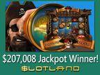 Slotland.com Player Hits Near Record Breaking Online Progressive Jackpot of $207,008
