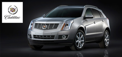 The 2015 Cadillac SRX will be available at Palmen Buick GMC Cadillac later this year (2014 Model Shown). (PRNewsFoto/Palmen Buick GMC Cadillac)