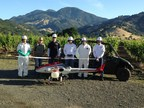 Yamaha RMAX Debuts Commercial Spray Service on Napa Valley Vineyard