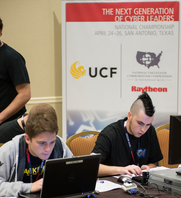 UCF wins the 2015 National Collegiate Cyber Defense Competition, by Raytheon #NCCDC