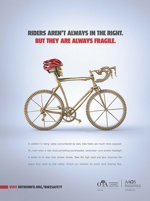 Be safe while cycling your way to better bone health