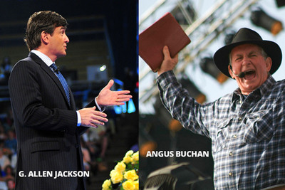 Angus Buchan and Allen Jackson set the stage for the first Mighty Men Conference USA.