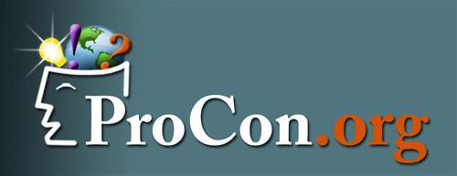 ProCon.org logo. (PRNewsFoto/ProCon.org) (PRNewsFoto/)