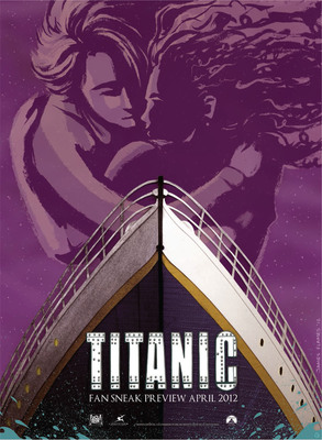 A limited-edition TITANIC movie art lithograph.  (PRNewsFoto/Paramount Pictures Corporation)