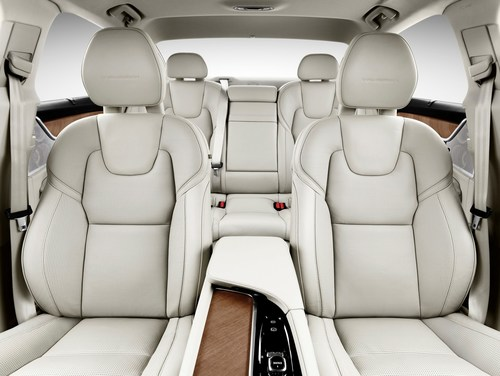Johnson Controls combines consequently modern design with highest comfort for front and rear seats of the Volvo S90. (PRNewsFoto/Johnson Controls)