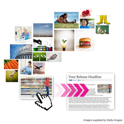 PR Newswire partners with Getty Images to offer a range photos to their customers to enhance their content.  (PRNewsFoto/PR Newswire Association LLC)