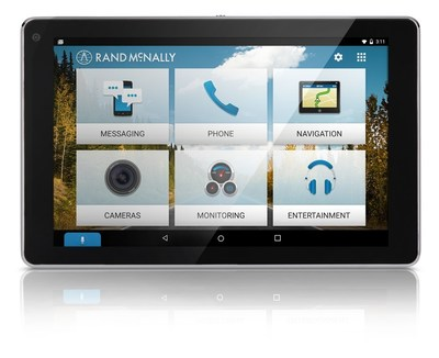 Rand McNally OverDryve™ 7 Named a Top Tech Gift for 2016