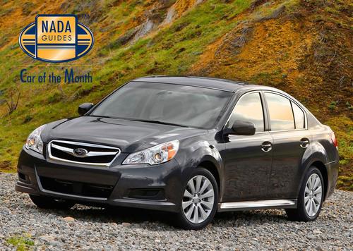2011 Subaru Legacy NADAguides Car of the Month November.  (PRNewsFoto/NADAguides)