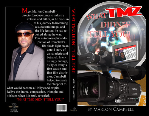 Marlon Campbell Book Sheds Light on Relationship With Tyler Perry and TMZ Feud
