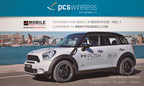 Posh Mobile Branded Vehicle in PCS Wireless Booth at Mobile World Congress 2015