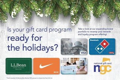 National Gift Card (NGC) offers tips and insights for getting gift cards in time for the holidays when using points or miles from your rewards program.  NGC is the leading marketer and supplier of gift cards for use in loyalty, incentive and rewards programs and offers a variety of retail, restaurant and prepaid cards along with secure online ordering, distribution, fulfillment services, a Gift Card API and customized gift card programs designed to reach each client's specific objectives.