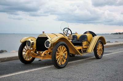 Important 1912 Mercer Raceabout & Thrall Automobile Collection to be Sold by Dragone Auctions (PRNewsFoto/Dragone Classic Motorcars)