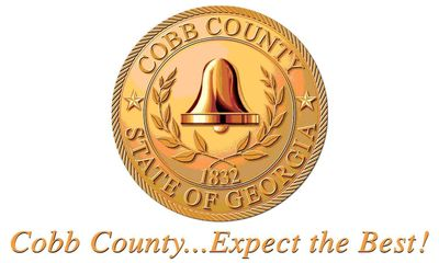 Cobb County logo.