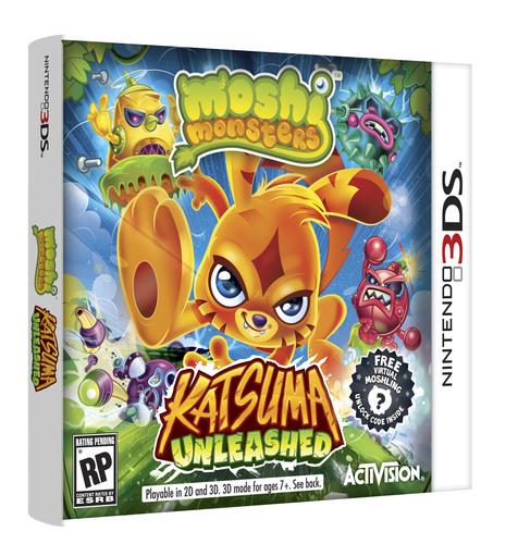 Katsuma Unleashed for Nintendo 3DS(TM). (PRNewsFoto/Mind Candy) (PRNewsFoto/MIND CANDY)