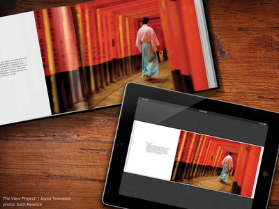 Blurb's new ebooks create physically stunning books at the click of a button.  (PRNewsFoto/Blurb)