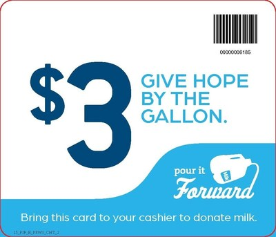 "Through the end of September, Ralphs customers can help provide nutrient-rich milk to families in need by donating $1, $3 or $5 at check-out as part of its ""Pour It Forward"" campaign benefiting Southern California Feeding America food banks."