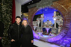 Liz Rodbell & Nick Jonas at Lord & Taylor's 2014 Holiday Window Unveiling (PRNewsFoto/Lord & Taylor)
