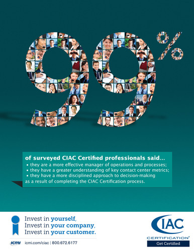 ICMI Unveils Next-Generation Call Center Professional Certification, Setting the Standard for