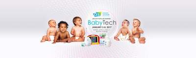 BabyTech at CES 2017, features a two day Summit of panel discussions and Marketplace, January 5-8, offering  an opportunity to hear from and see the leading tech innovators and products in the baby space today.  The summit and marketplace will both take place at Tech West.