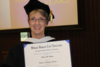 Domestic Violence Visionary Denise M. Bender Earns Honorary Doctorate from Taft University