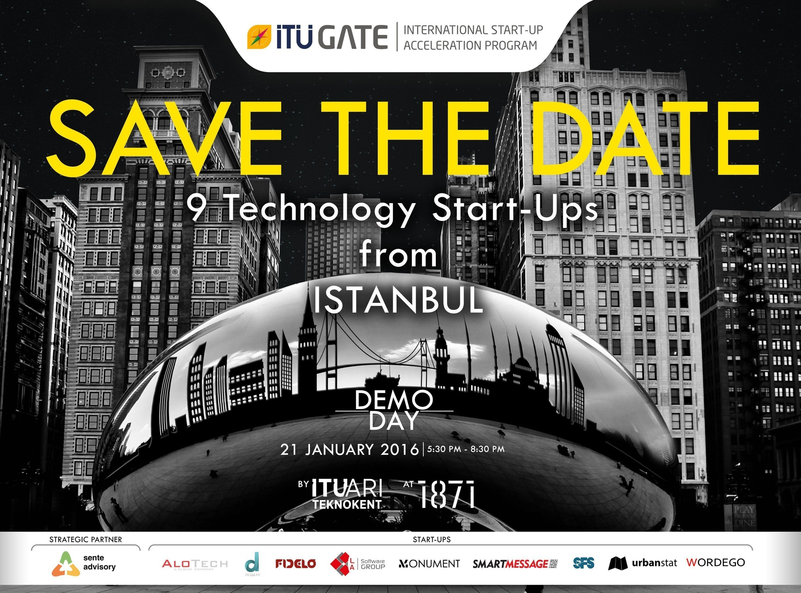 Top startups from Istanbul showcased to Chicago's International Business Community : ITU GATE Chicago Demo ...