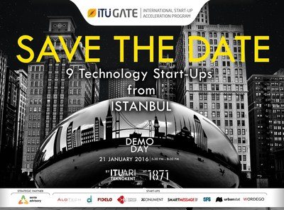 Top startups from Istanbul showcased to Chicago's International Business Community : ITU GATE Chicago Demo Day