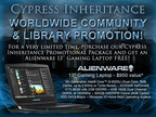 Cypress Inheritance Worldwide Community & Library Promotions