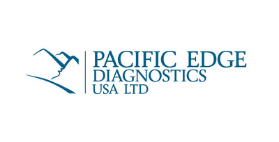 Pacific Edge Diagnostics USA Logo.  (PRNewsFoto/Pacific Edge Diagnostics USA)
