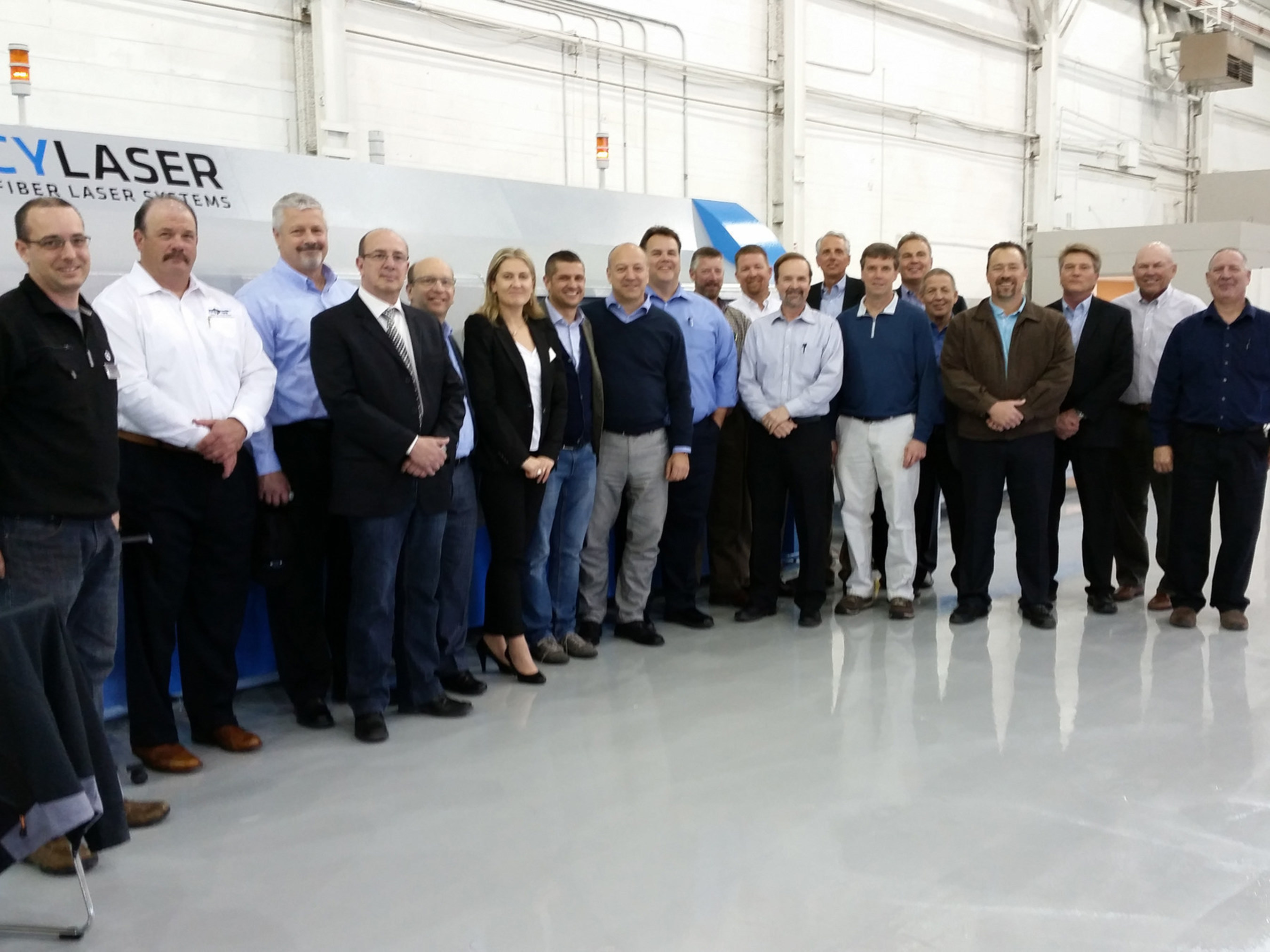 Cy-Laser America Dedicates New Technology Center and Showroom in Metropolitan Detroit