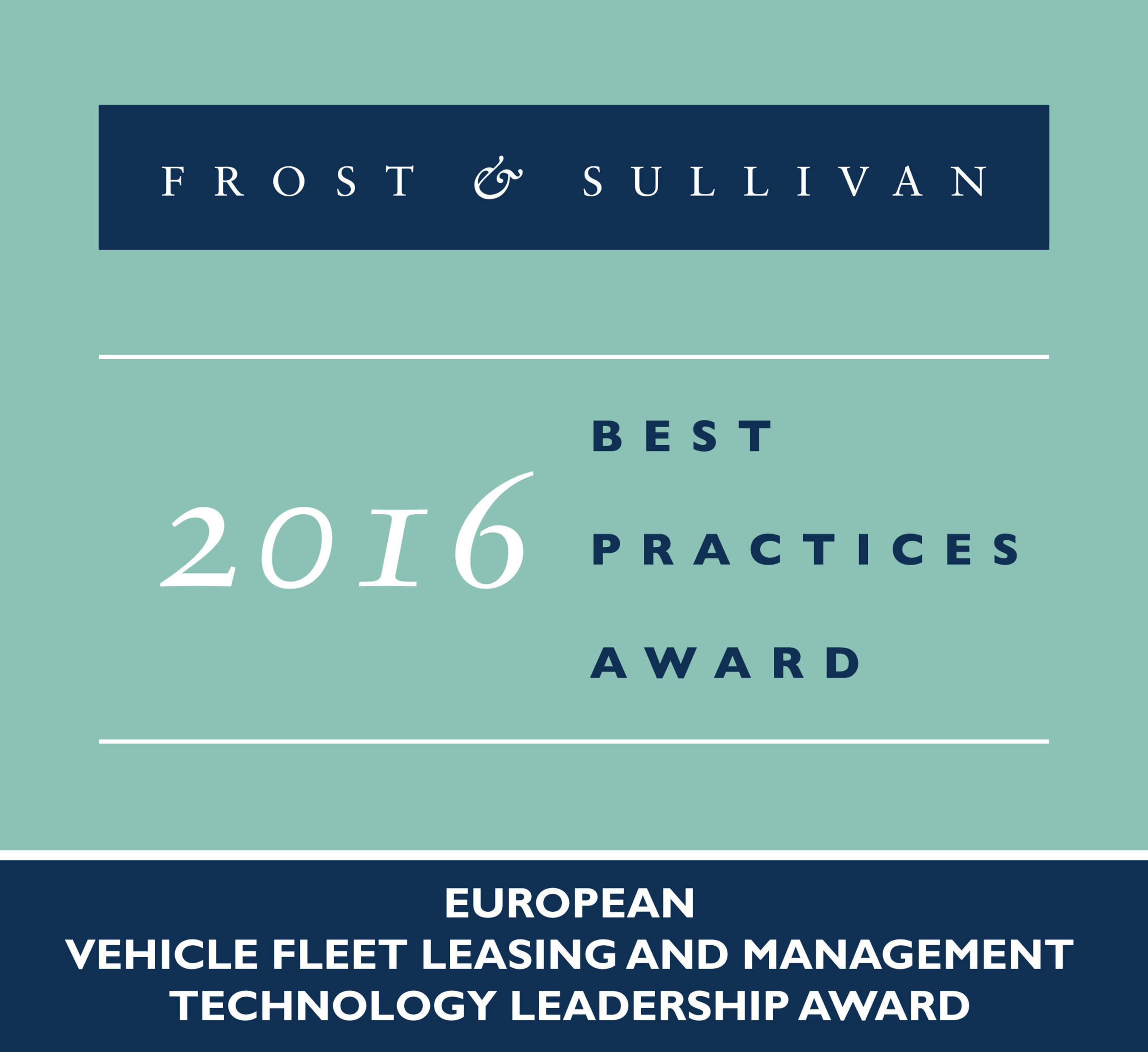 Carano Software Solutions Receives 2016 European Vehicle Fleet Leasing and Management Technology Leadership Award