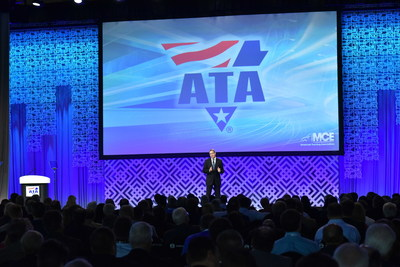 ATA President and CEO Chris Spear presents his first State of the Industry address at MCE 2016.