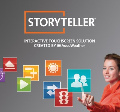StoryTeller Interactive Touchscreen by AccuWeather