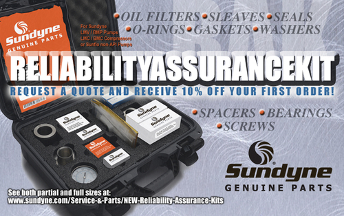 Introducing the new Sundyne Reliability Assurance Kit: the exclusive single source solution for Sundyne technical documentation and genuine spare parts.  (PRNewsFoto/Sundyne)