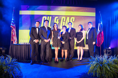 "Geoforce wins ""General Industry Service"" category of Oil & Gas Awards. (PRNewsFoto/Geoforce, Inc.)"
