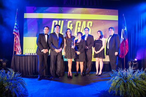 "Geoforce wins ""General Industry Service"" category of Oil & Gas Awards. (PRNewsFoto/Geoforce, Inc.) ..."