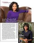 Savoy Magazine features PH Collection CEO, Jennifer Harrison and partners Steve Harvey, Rushion McDonald and Ricky Anderson. (PRNewsFoto/PH Collection Hair Extensions)