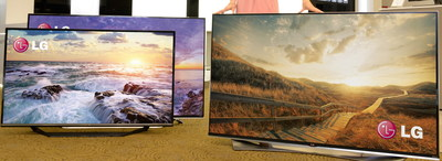 LG Electronics (LG) announced today plans to unveil its expanded lineup of LED 4K ULTRA HD TVs, with new designs, more features and picture quality enhancements, at the 2015 International CES(R) in Las Vegas from Jan. 6-9. LG's LED 4K ULTRA HD TV lineup will highlight the superb color reproduction of its ColorPrime series which produces greater realism and depth either with Wide Color LED or Quantum Dot technology.