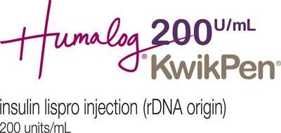 Humalog 200 units / mL KwikPen