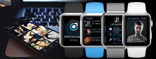PlanetRomeo First to Bring Gay Dating to Apple Watch (PRNewsFoto/PlanetRomeo)