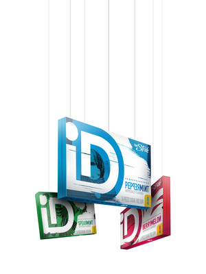 iD Gum offers up a delicious twist to the flavors you love - Peppermint, BerryMelon, and Spearmint.(PRNewsFoto/iD Gum)