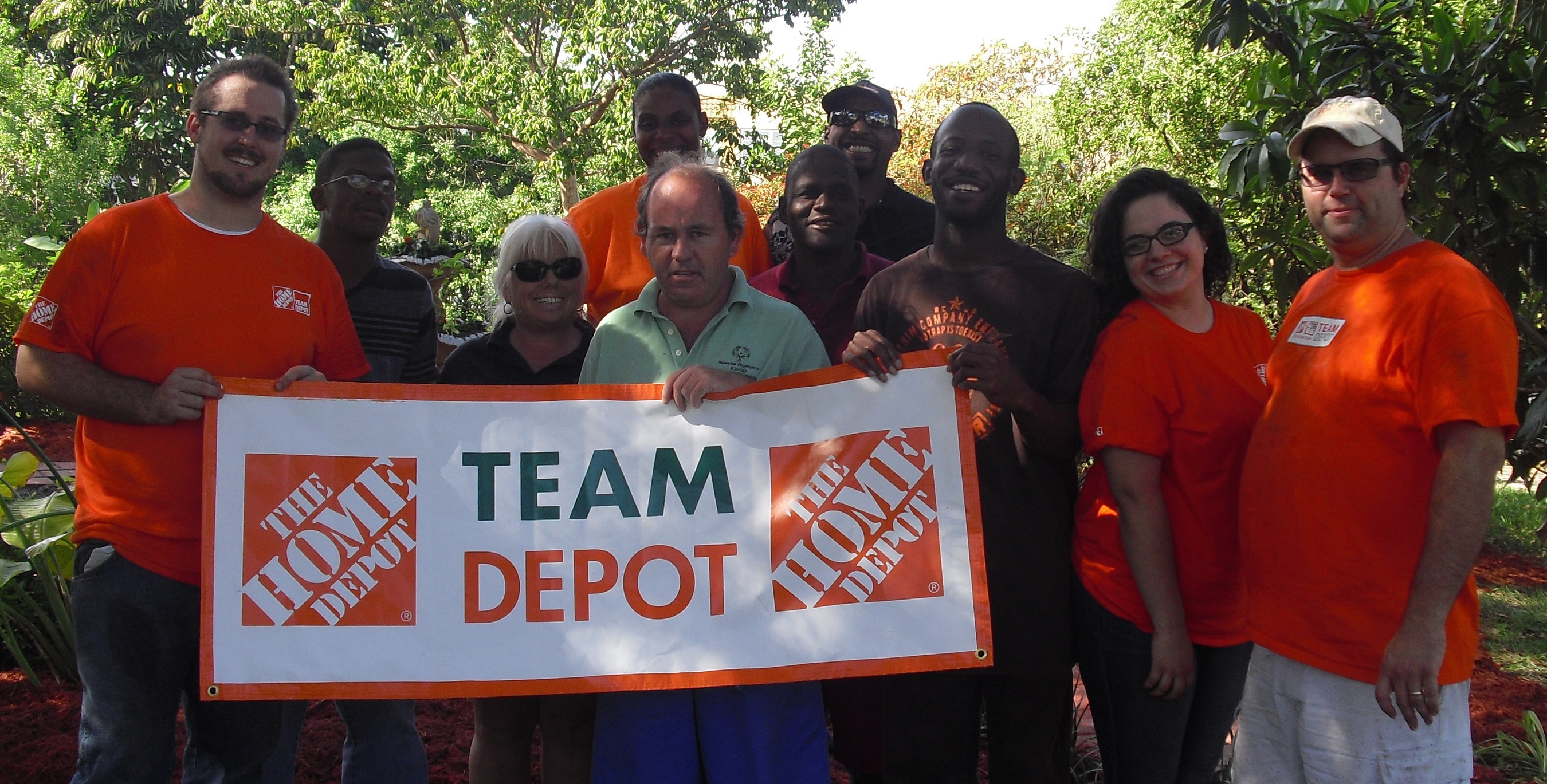Victory Living Programs Receives Help From Home Depot To