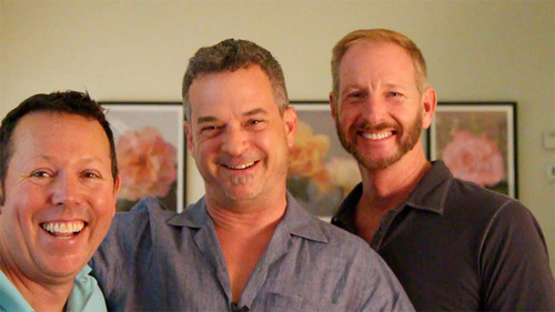 3 of the 4 producers of Lewd & Lascivious.  (PRNewsFoto/Mark Hollenstein)