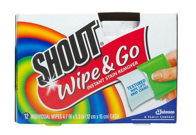 Shout(R) Wipes