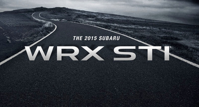 Subaru WRX STI to debut at the 2014 North American International Auto Show.  (PRNewsFoto/Subaru of America, Inc.)