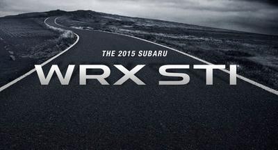 Subaru WRX STI to debut at the 2014 North American International Auto Show. (PRNewsFoto/Subaru of America, Inc.) (PRNewsFoto/SUBARU OF AMERICA, INC.)