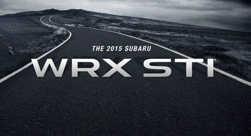 Subaru WRX STI to debut at the 2014 North American International Auto Show.  (PRNewsFoto/Subaru of America, ...