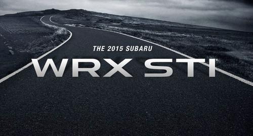 Subaru WRX STI to debut at the 2014 North American International Auto Show. (PRNewsFoto/Subaru of America, ...