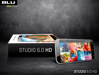BLU Products Studio 6.0 HD (PRNewsFoto/BLU Products)